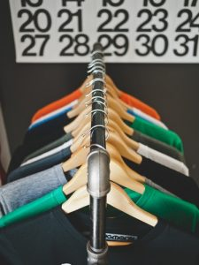 The best way to declutter is to get rid of clothes