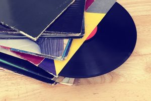 Vinyl records require a climate controlled storage facilities.