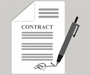 Complete contract is a sign of reliable movers.