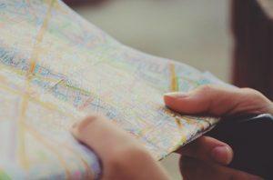 a city map