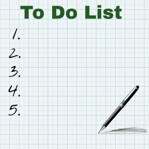 When packing electronics, always make a list.