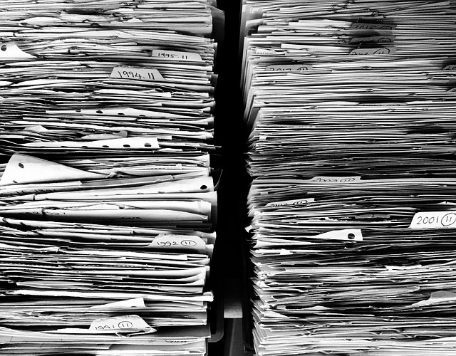 A lot of paperwork you'll need to submit when moving.