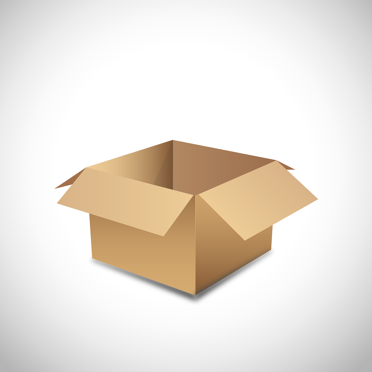 Use appropriate boxes when packing for storage