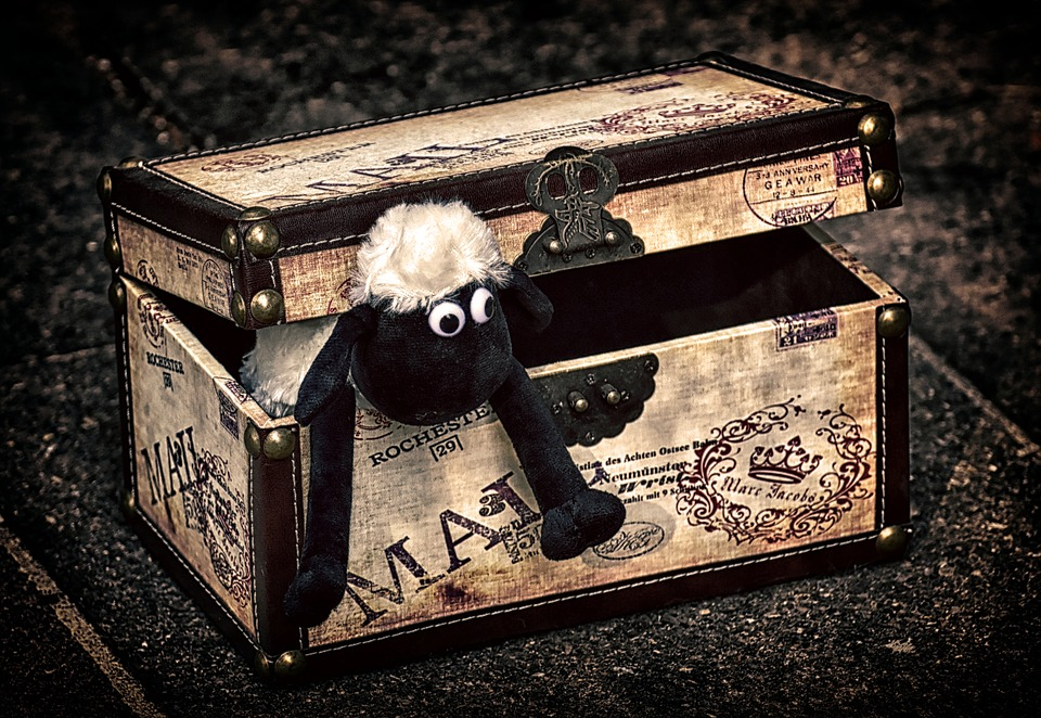 A toy chest as one of the best in-house storage solutions.
