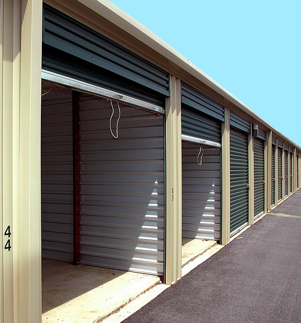 A nice row of good looking storage units.