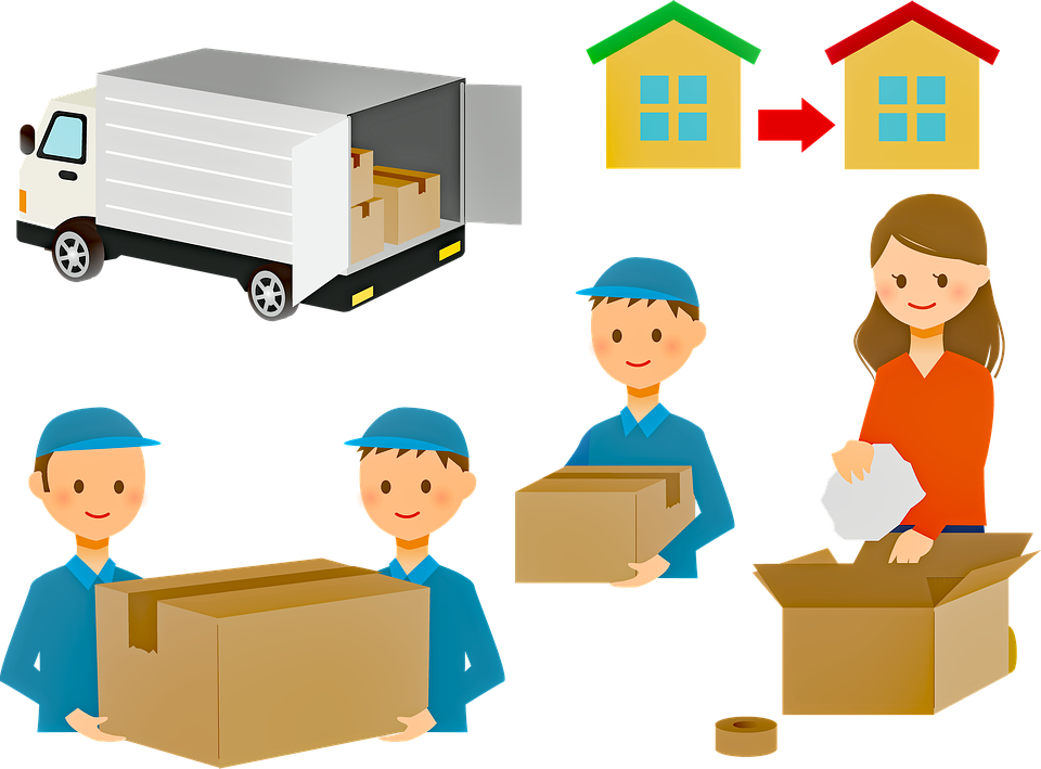 How to determine the number of movers you need? How many movers carrying moving boxes is enough?
