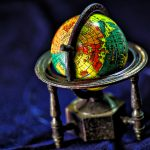 A globe is a useful item when moving abroad for work