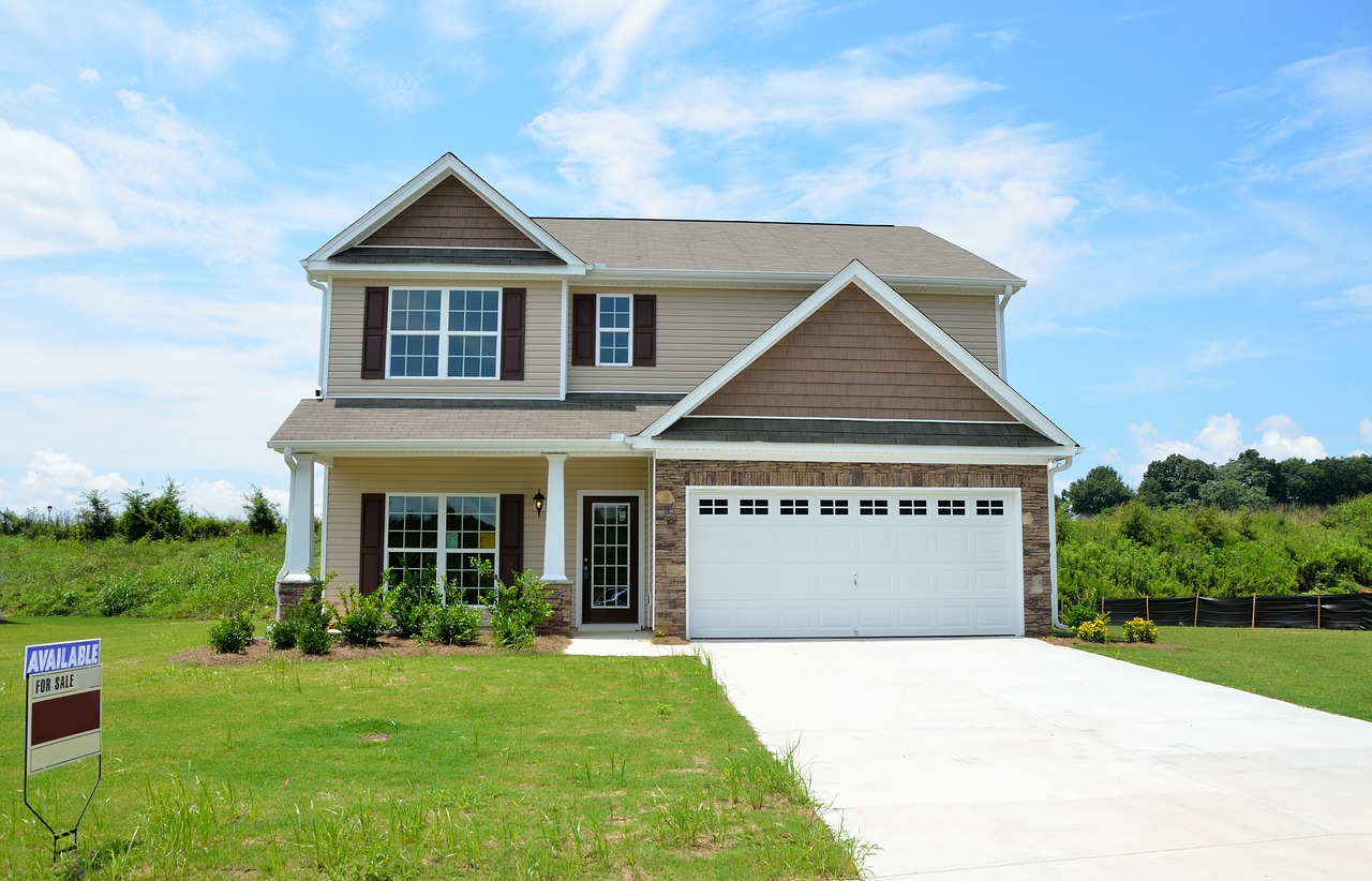 A house for sale - if you're moving make sure to prepare for movers' arrival before the big day.