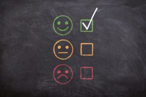 Feedback can help you work on improving customer satisfaction.