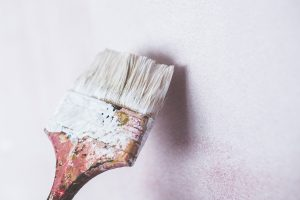 A brush for painting the walls