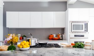 A functional kitchen which is what you need to look for in new housing.