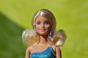 Close up of a Barbie.