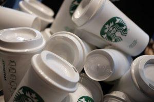 Starbucks plastic cups
