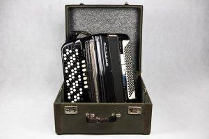 Harmonica in a case
