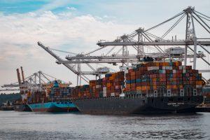 A cargo freighter