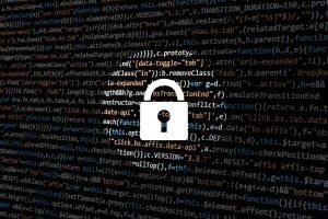 cybersecurity lock symbol