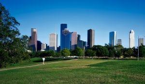 Buildings in Houston