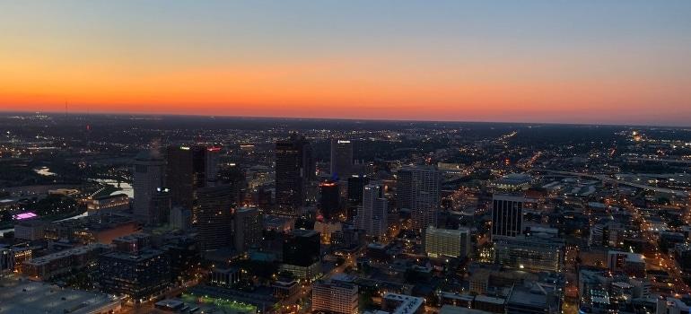 Columbus OH skyline