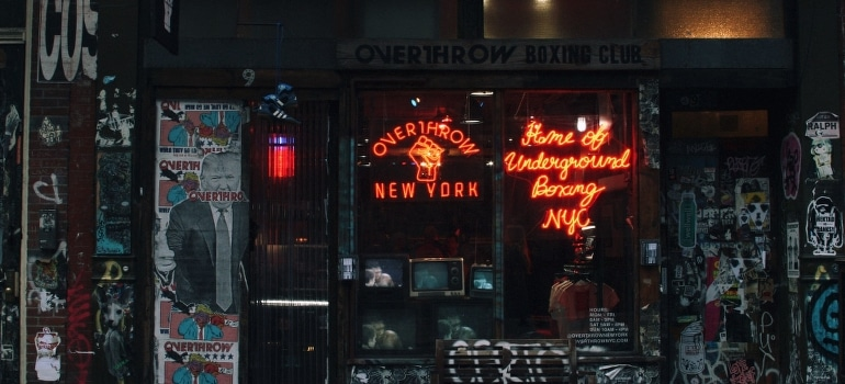 a shop in NYC