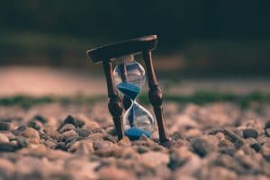 An hour glass
