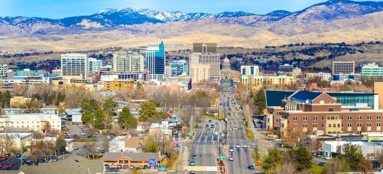Boise, Idaho skyline