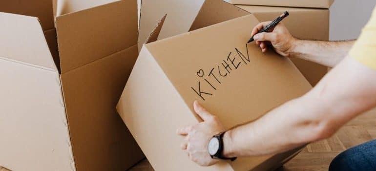 storage tips - labeling