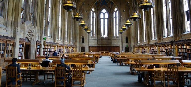 University Library interior